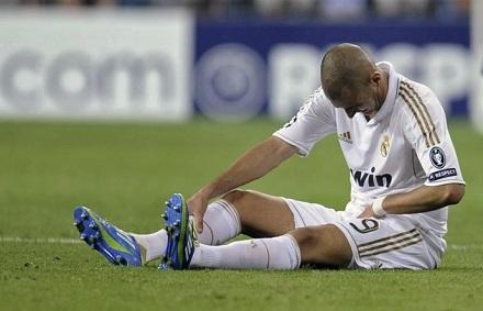 Травма паха в футболе