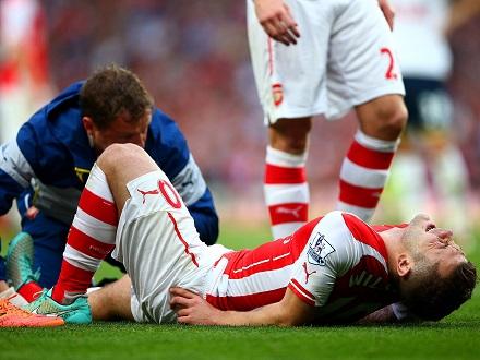 Травмы голеностопа в футболе