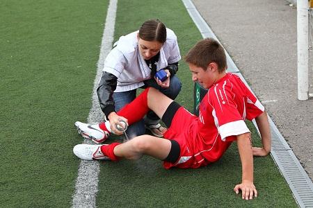Минусы футбола для детей