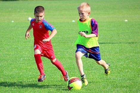Плюсы футбола для детей