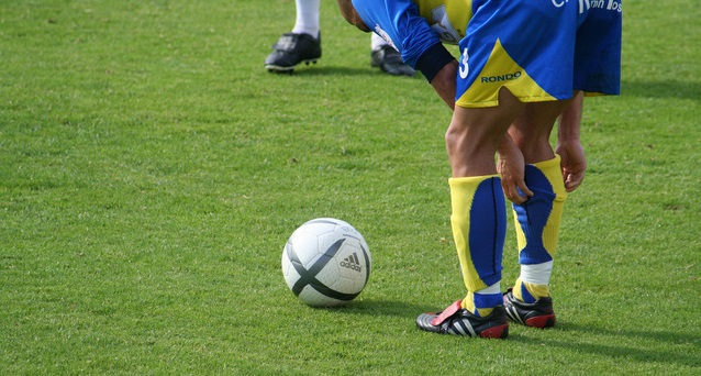 Штрафной удар в футболе