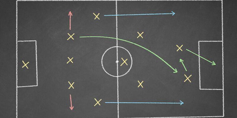 Схема 3-5-2 в футболе: тактика, расстановка, плюсы и минусы