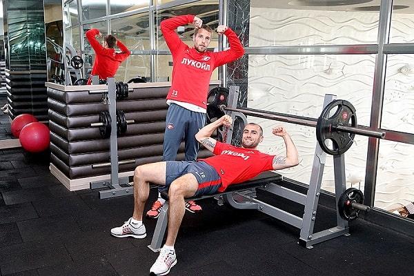 Силовые упражнения для футболистов