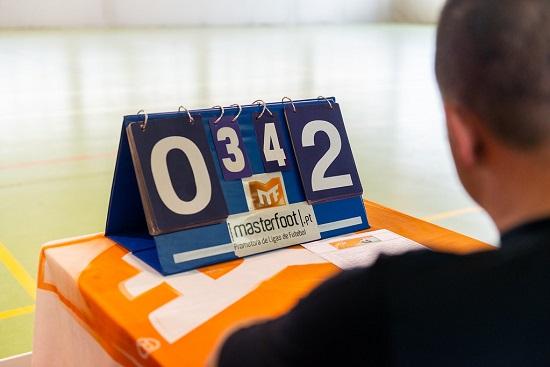 Хронометрист в мини-футболе