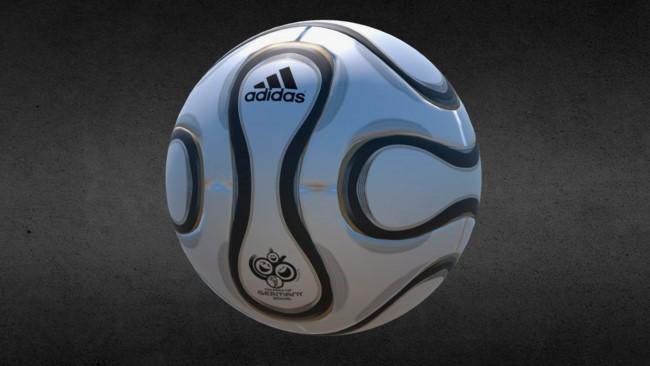 Футбольный мяч Adidas + Teamgeist