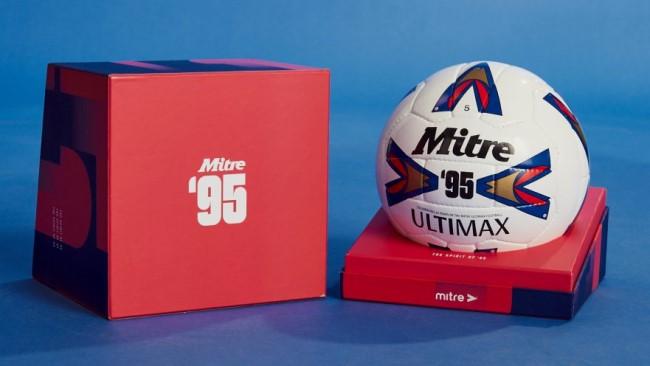 Футбольный мяч Mitre Ultimax