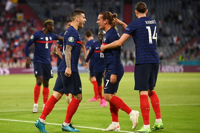 Шансы сборной Франции на победу на Евро-2020