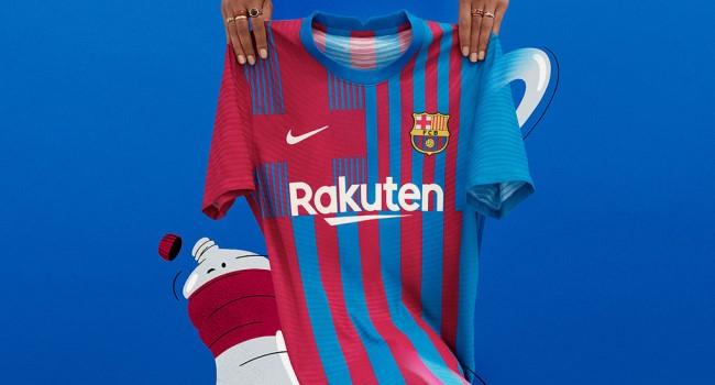 Домашняя форма «Барселоны» 2021-22