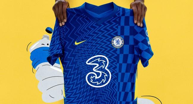 Домашняя форма «Челси» 2021-22