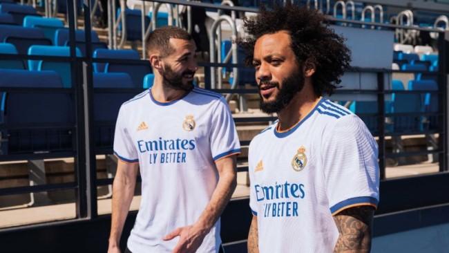 Домашняя форма «Реала» сезона 2021-22