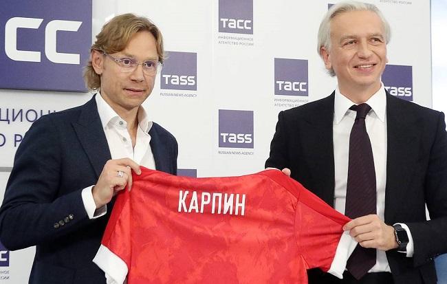 РФС и Валерий Карпин подписали контракт до 31 декабря 2021 года – до окончания отборочного цикла ЧМ-2022. Фото: rfs.ru