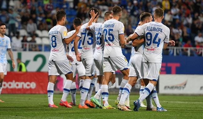 «Динамо» Киев празднует гол в ворота «Десны». Фото: twitter.com/dynamokyiv