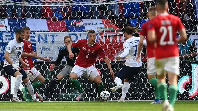 Сборная Венгрии в матчах с французами и немцами забивала первой, но ни разу не удерживала преимущество в счете. Фото: matchtv.ru
