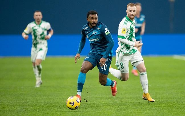 Фрагмент матча «Зенит» – Ахмат в сезоне 2020/21. Фото: premierliga.ru